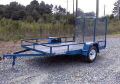 Used Equipment Sales Small Trencher Trailer  47 in Santa Ana CA