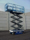 Used Equipment Sales 26  Scissor Lift- Genie     23w in Santa Ana CA
