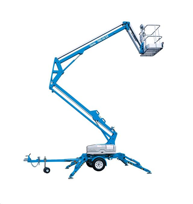 Where to find 34  BOOMLIFT- TOW w HYD. OUTRIGGERS in Santa Ana