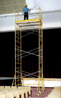 Rental store for SCAFFOLD 3 HIGH TOWER 5  x 10  x 16 in Santa Ana CA