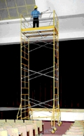 Rental store for SCAFFOLD 4 HIGH TOWER 5  x 10  x 21 in Santa Ana CA
